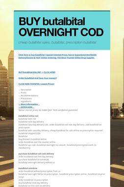 BUY butalbital OVERNIGHT COD