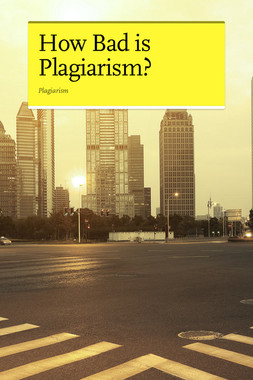 How Bad is Plagiarism?
