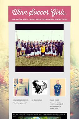 Winn Soccer Girls.