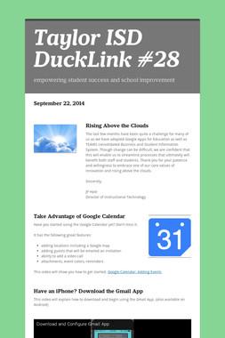 Taylor ISD DuckLink #28