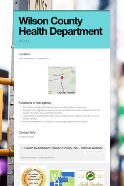 Wilson County Health Department