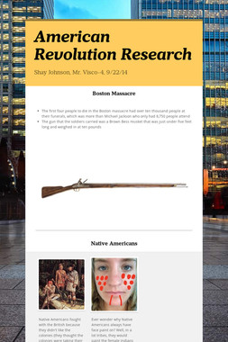 American Revolution Research
