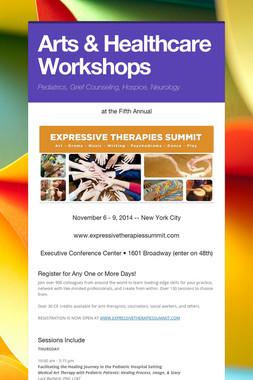 Arts & Healthcare Workshops
