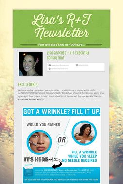 Lisa's R+F Newsletter