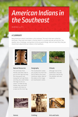 American Indians in the Southeast