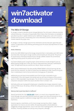 win7activator download