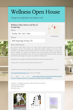 Wellness Open House