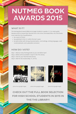 Nutmeg Book Awards 2015