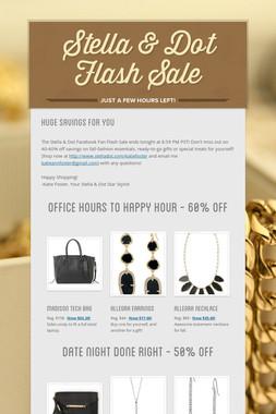 Stella & Dot Flash Sale