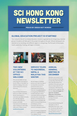 SCI Hong Kong Newsletter