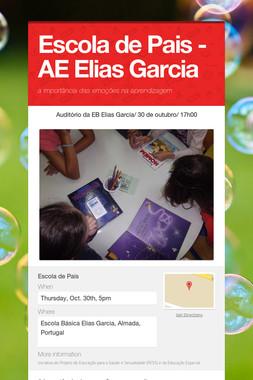 Escola de Pais - AE Elias Garcia