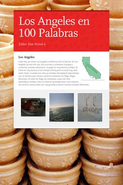 Los Angeles en 100 Palabras