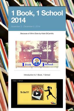 1 Book, 1 School 2014