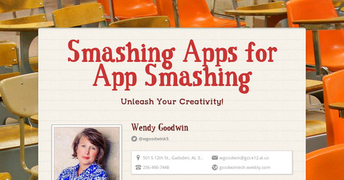 Smashing Apps for App Smashing