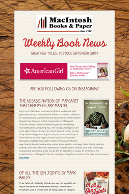Weekly Book News
