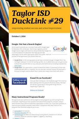Taylor ISD DuckLink #29