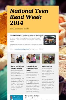 National Teen Read Week 2014