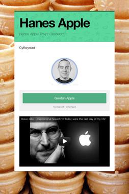 Hanes Apple
