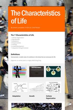 The Characteristics of Life