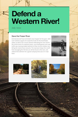 Defend a Western River!