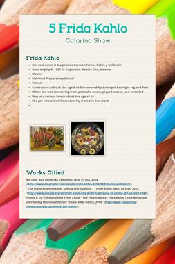 5 Frida Kahlo