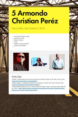 5 Armondo Christian Peréz