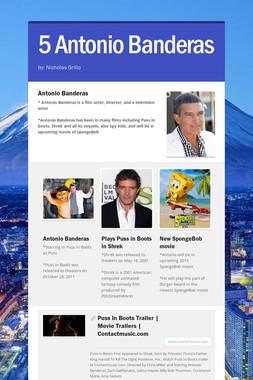 5 Antonio Banderas