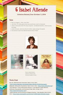6 Isabel Allende