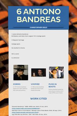 6 Antiono bandreas
