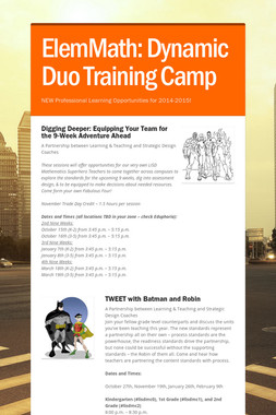 ElemMath: Dynamic Duo Training Camp