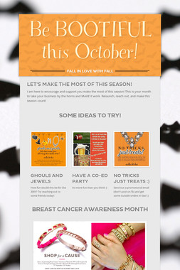 Be BOOTIFUL this October!