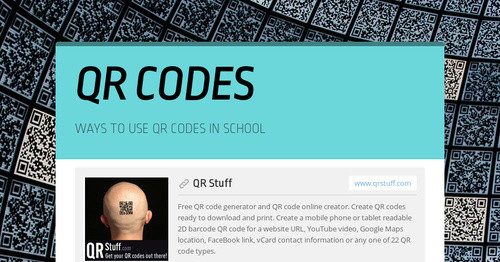 QR CODES | Smore Newsletters for Education