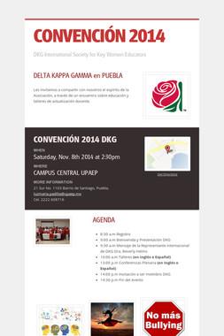 CONVENCIÓN 2014