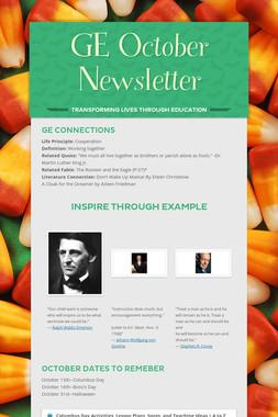 GE October Newsletter