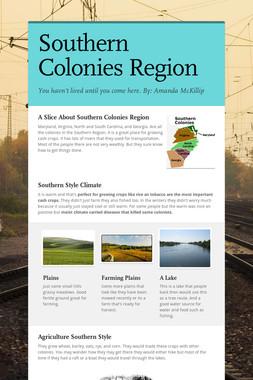 Southern Colonies Region