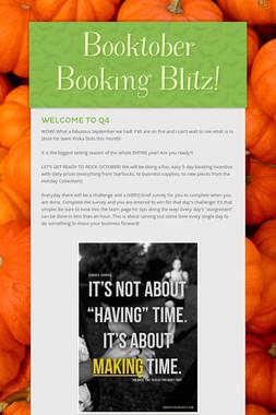 Booktober Booking Blitz!