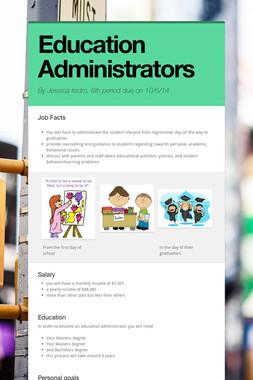 Education Administrators