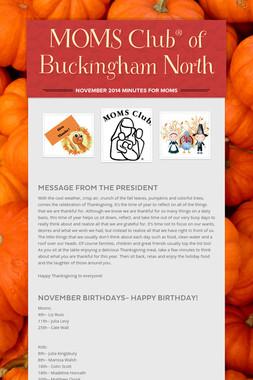 MOMS Club® of Buckingham North