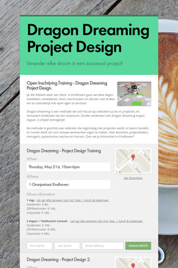 Dragon Dreaming Project Design