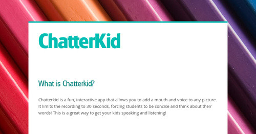 ChatterKid | Smore