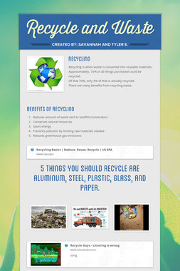 Recycle and Waste