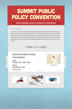 Summit Public Policy Convention
