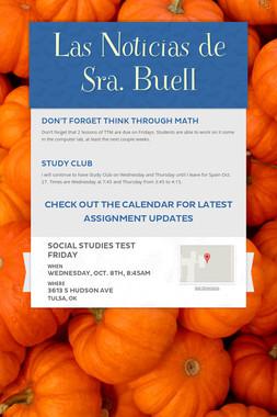 Las Noticias de Sra. Buell