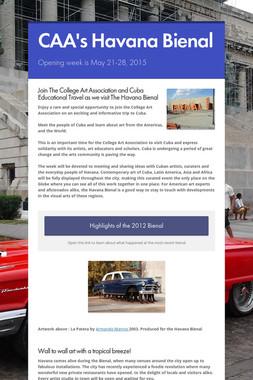 CAA's Havana Bienal
