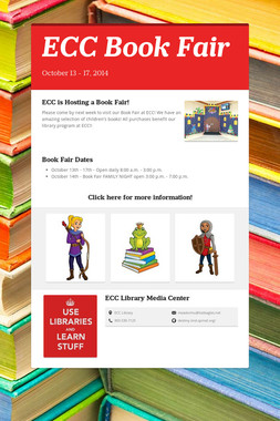 ECC Book Fair