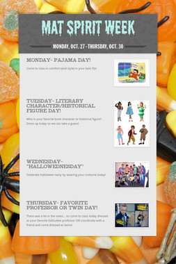 MAT Spirit Week