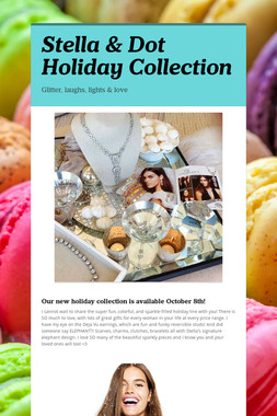 Stella & Dot Holiday Collection