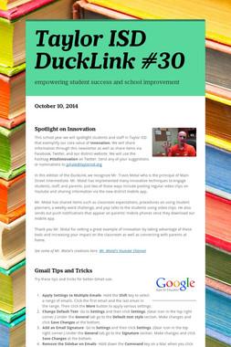 Taylor ISD DuckLink #30