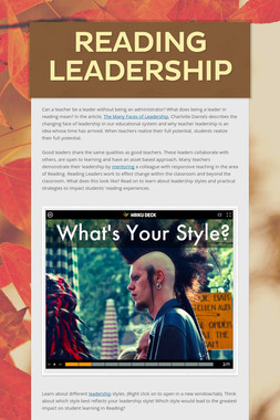 Reading Leadership