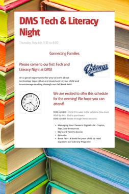 DMS Tech & Literacy Night